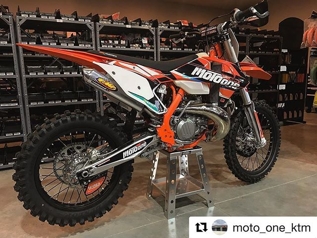Moto One KTM including the Ares rear dis