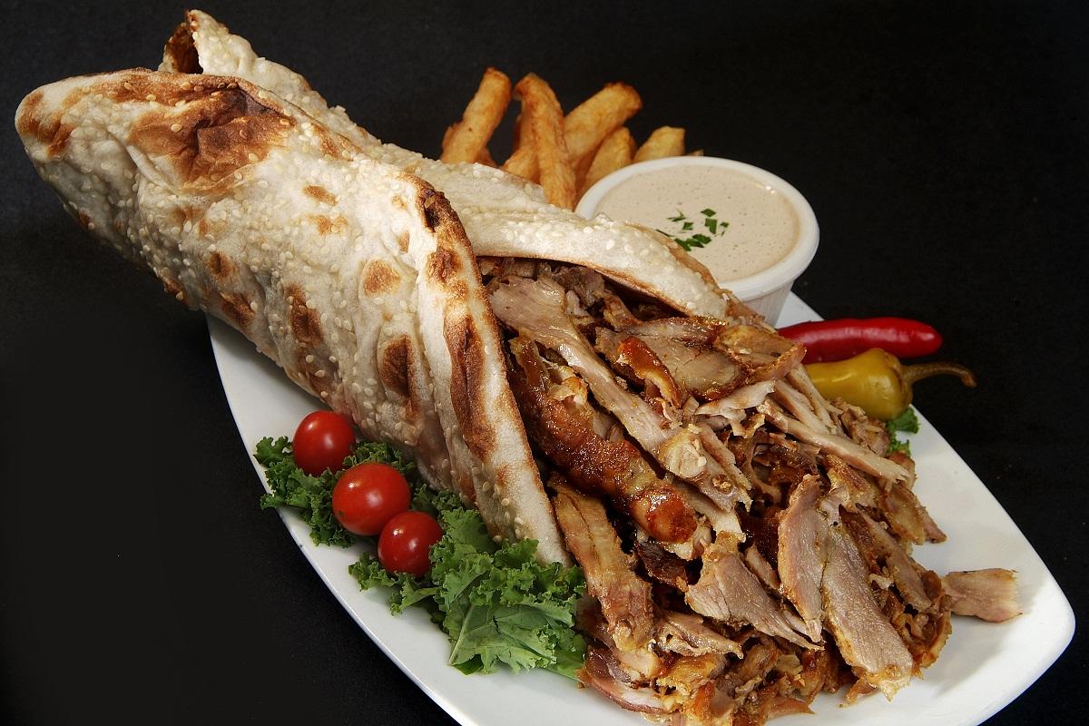 Shawarma in laffa