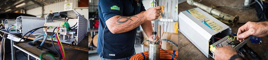 Repairs to Lorentz pump & controller