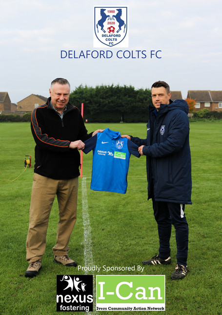 Nexus/I-Can & Delaford Colts FC in Partnership