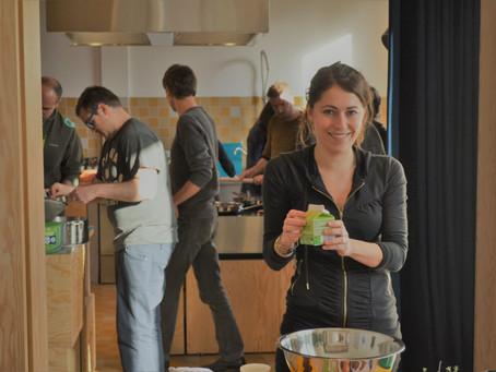 Combineer een meeting met een kookworkshop