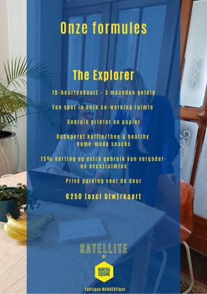Satellite 'The explorer'