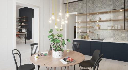 kantoor te huur Bureau/Cuisine