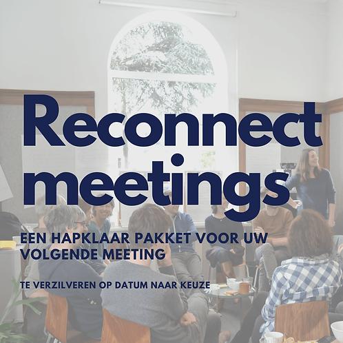 RECONNECT meeting pakket