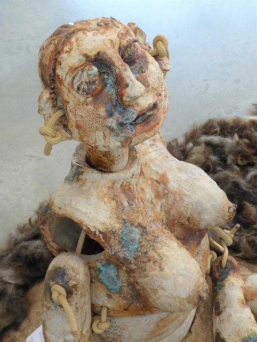 Sculpture marionnette