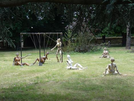 installation Musée d'Art Singulier, Art et Déchirure