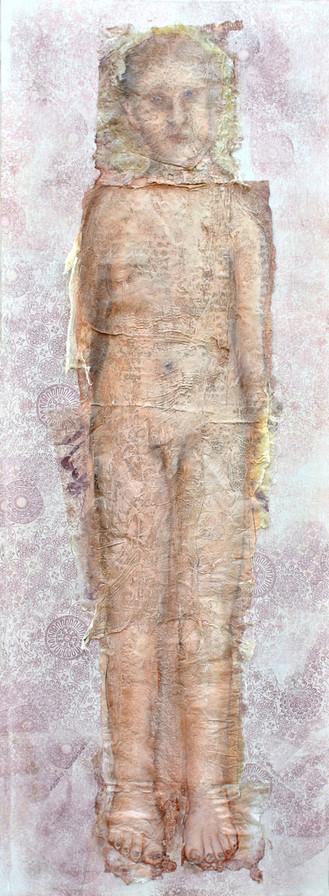 Lui, peinture sur toile- Disponible