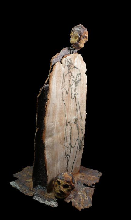 Stèle en céramique