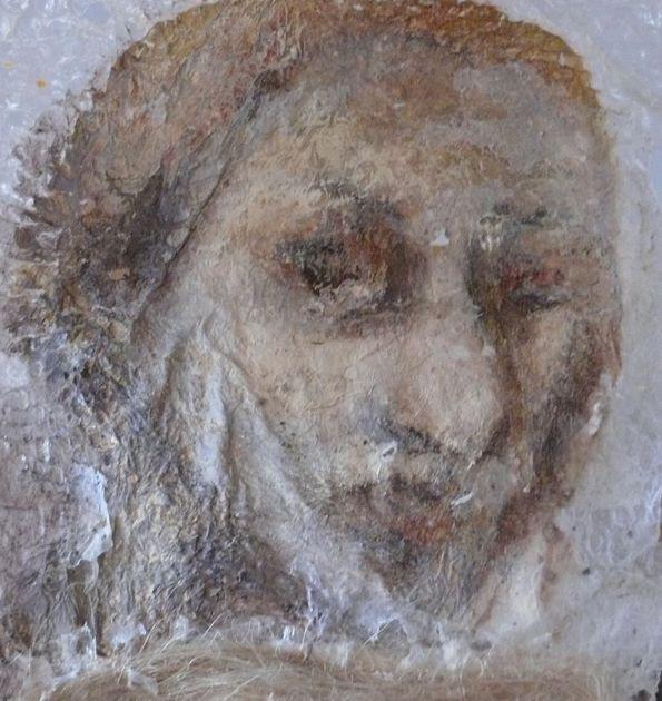 Portrait sur toile- Inès LSM