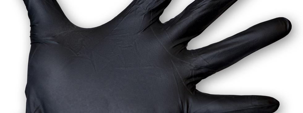 Black-Nitrile-Disposable-Gloves-Powder-F