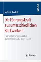 Buch: Die Führungskraft aus unterschiedlichen Blickwinkeln - 360 Grad Führungsbeurteilung