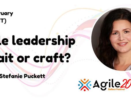 Agile Leadership - Keynote for the Agile Business Consortium