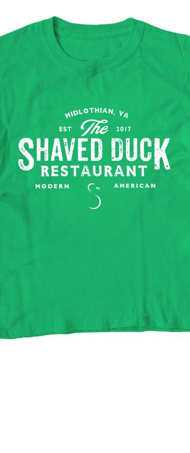 Kid's Green Duck Tee