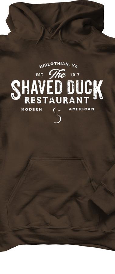 Brown Duck Hoodie