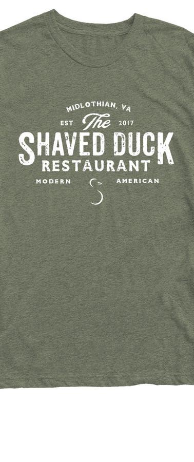 Military Green Duck T-Shirt
