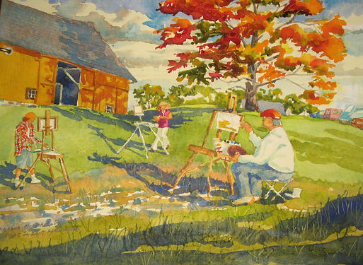 Plein Air Painting Lesons