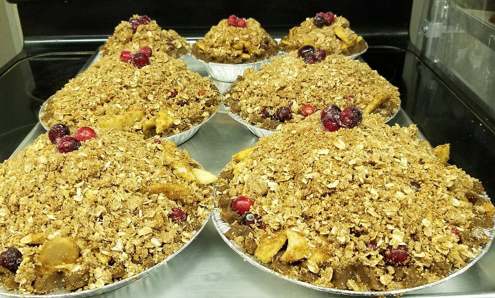 Pies: Small-cane sugar free