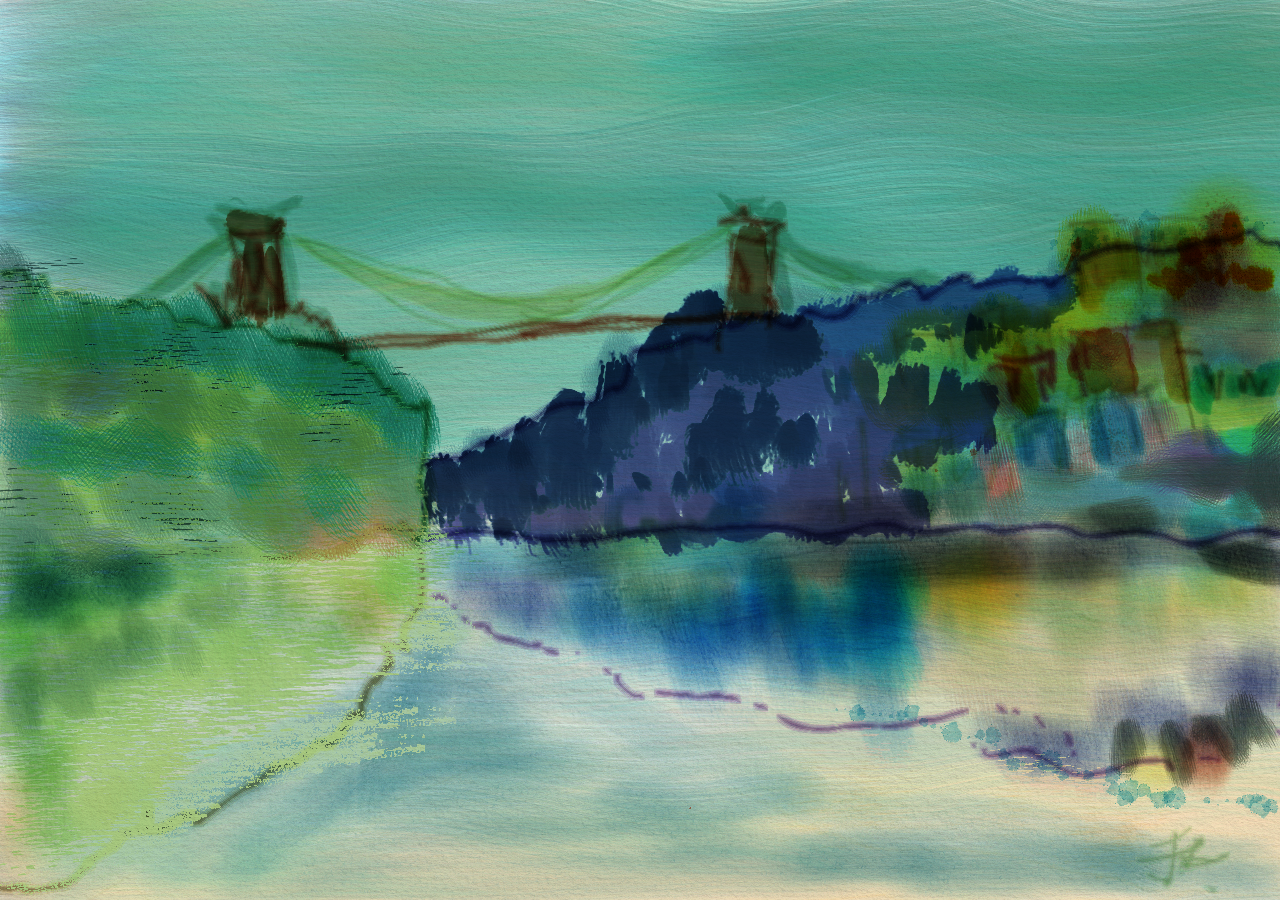 Cloudy Bridge