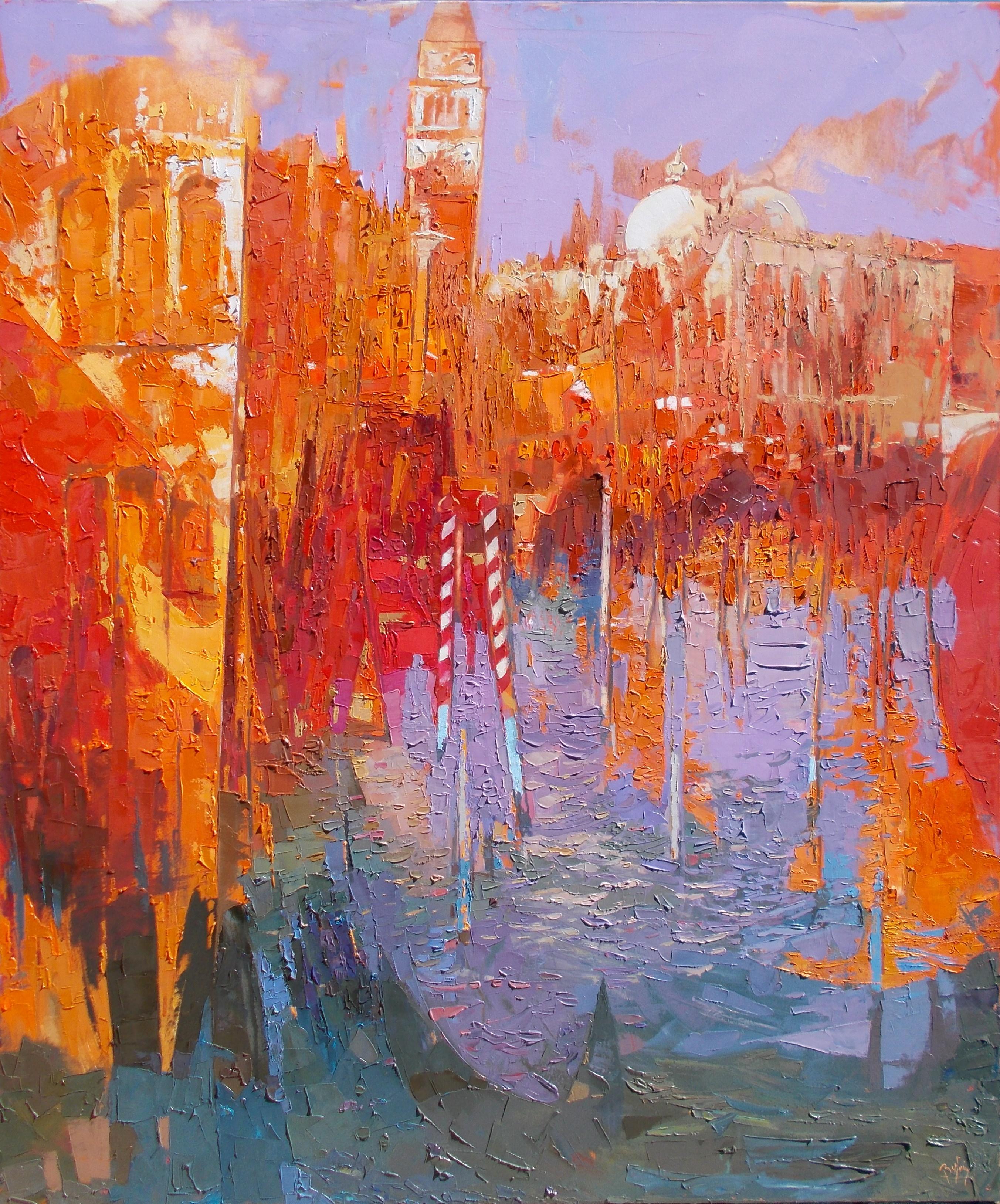 Basse marée en rouge à San Marco