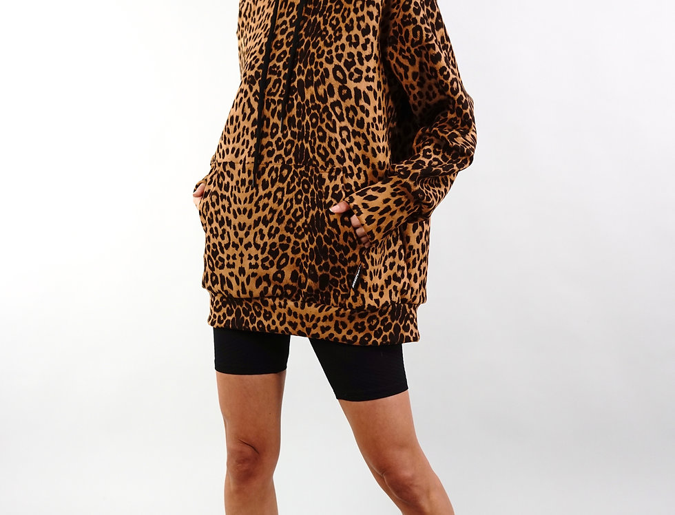 DISCIPLINA Leopard Hoodie