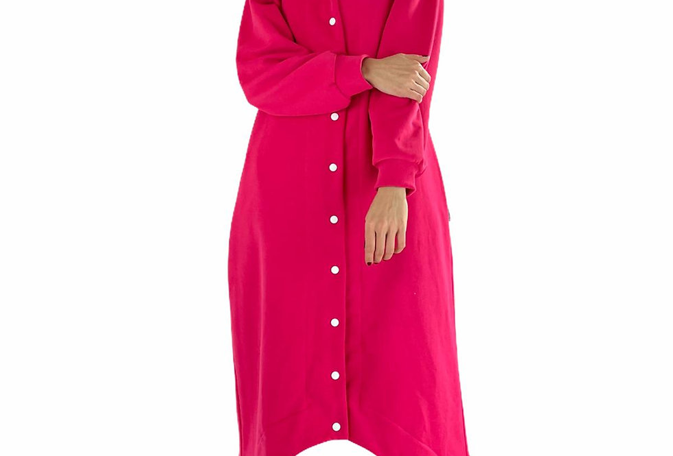 Console OVERSIZED DRESS ROBE in pink