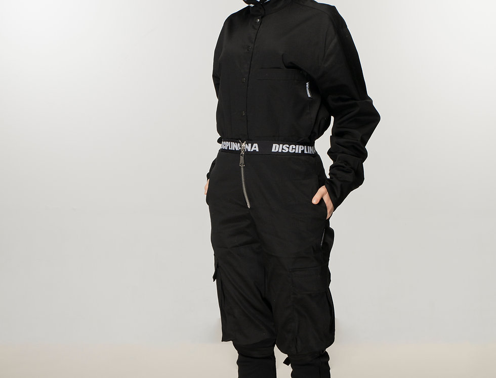BERLIN MILLITANT pants in black