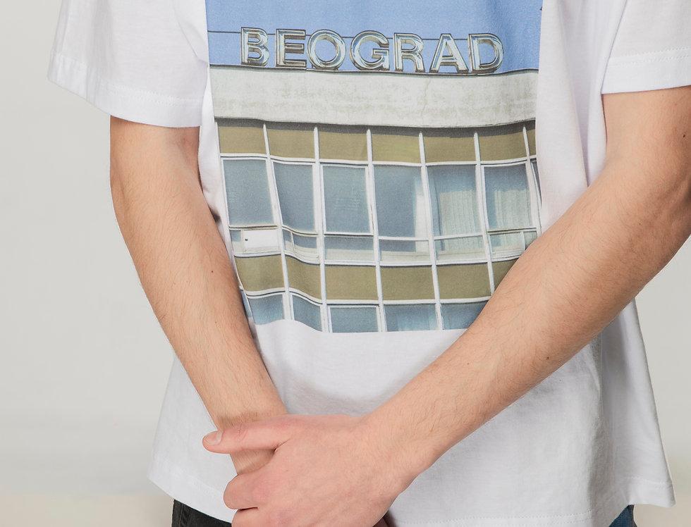 Beograd oversized T-shirt