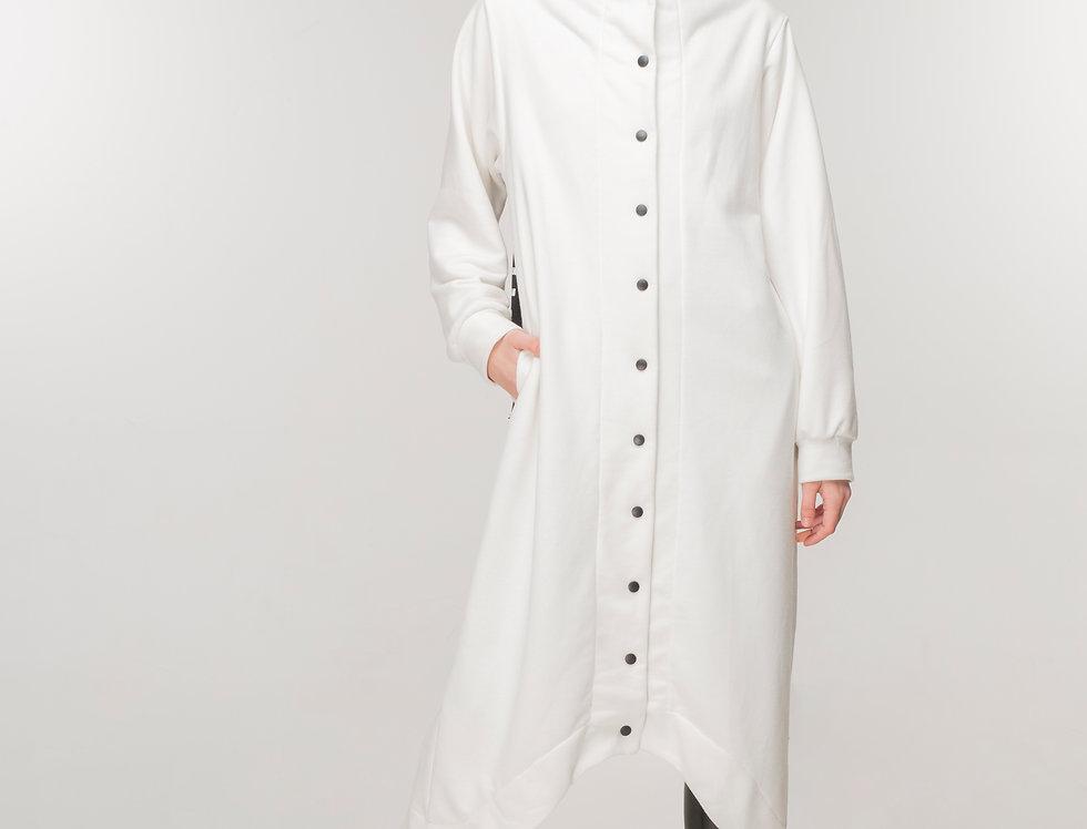 OVERSIZED DRESS ROBE / Oversized duks haljina