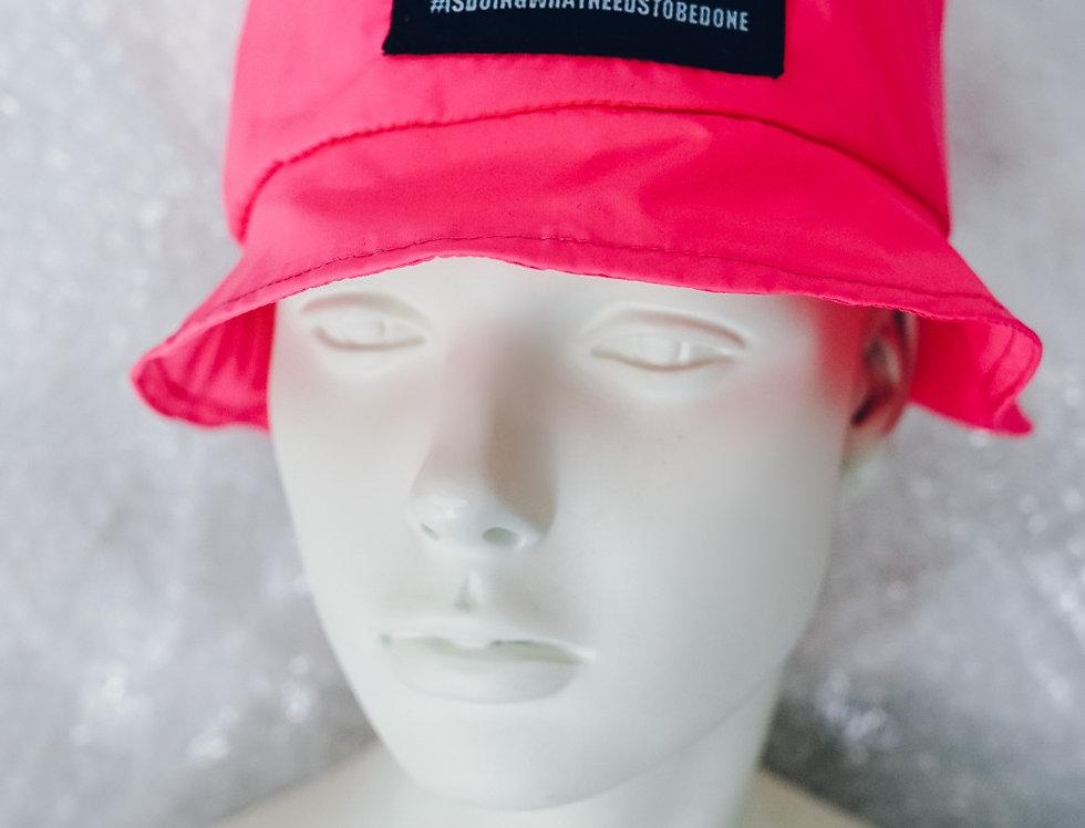 Windbreaker Bucket hat pink / Windbreaker sesir rozi