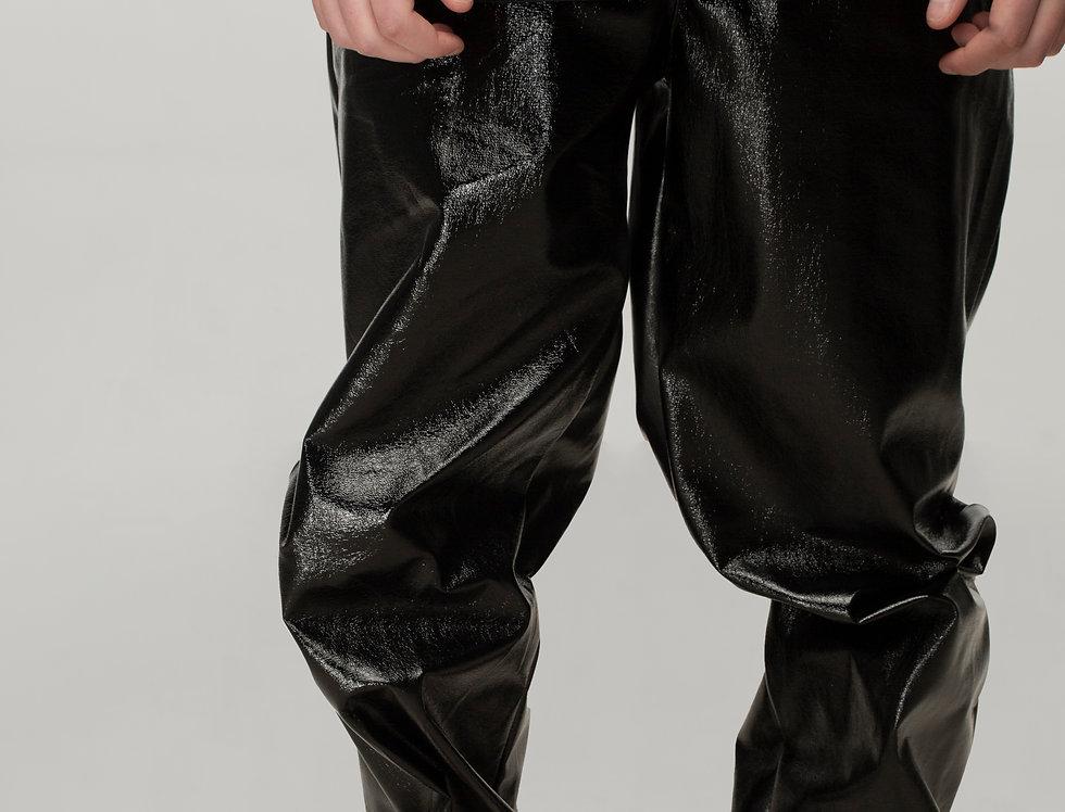 Console Knight lacquer pants / Console Knight lakovane pantalone