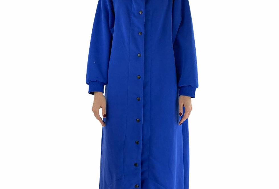 Console OVERSIZED DRESS ROBE in blue