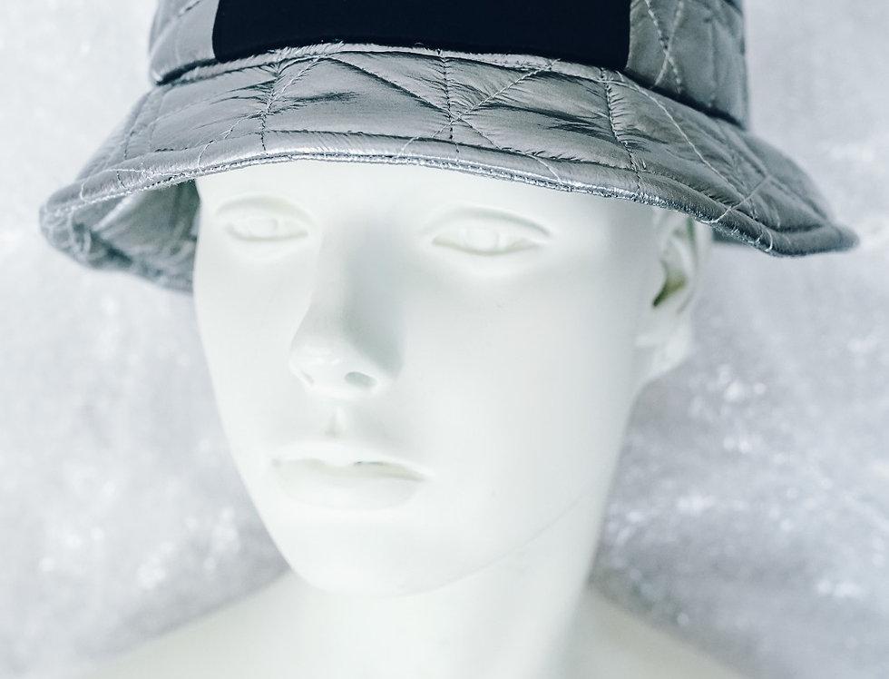 Silver Bucket hat / Sivi sesir