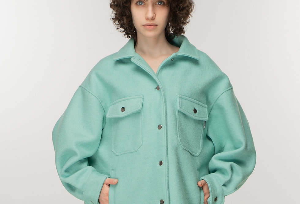Console oversized mint jacket / Console oversized mint jakna