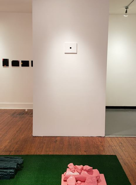 Install shot at Thundersky Gallery, Cincinnati