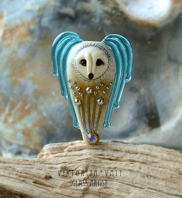 lampwork handmade focal bead pendant nec