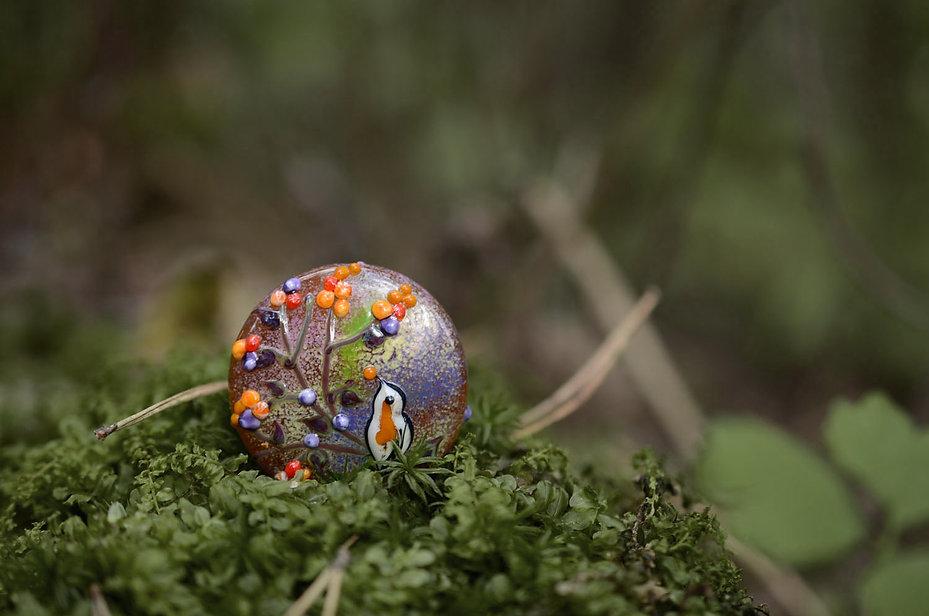 handmade lampwork beads art glass viktor