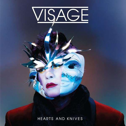 Visage | Hearts and Knives | CD