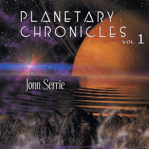 Jonn Serrie | Planetary Chronicles Vol 1 | CD