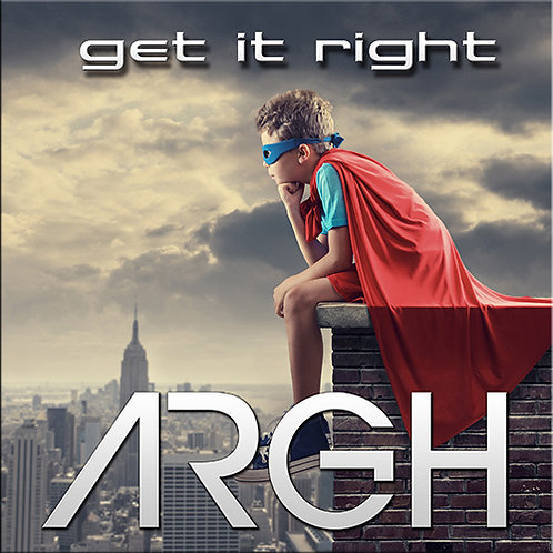 ARGH (Glenn Main)   Get it Right   CDr