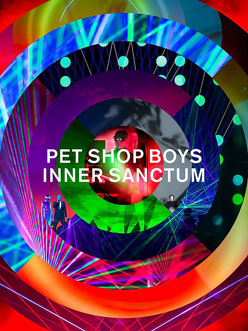 Pet Shop Boys | Inner Sanctum | BLU RAY, DVD & 2CD SET