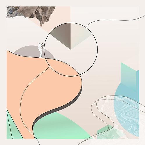 Echasketch | Invisible City | Transparent Bottle Green Vinyl