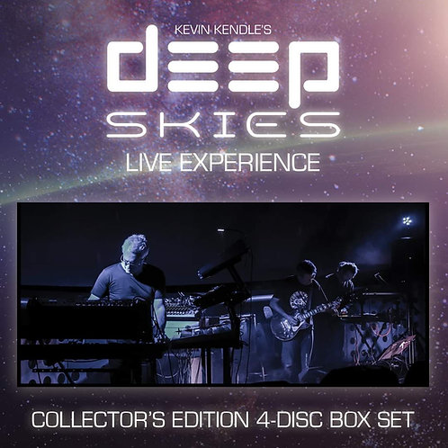 Kevin Kendle   Deep Skies Live Experience   2 x BluRay, 2 x CD