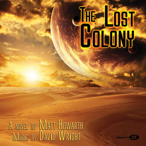 David Wright   The Lost Colony   Enhanced CD