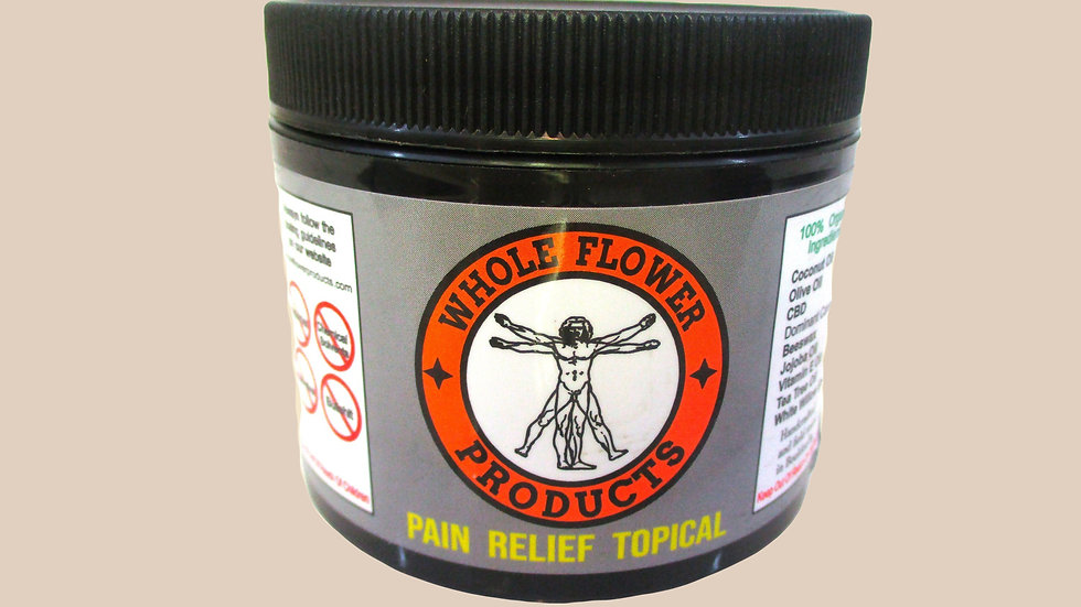 Pain Relief Topical Salve 3 oz.