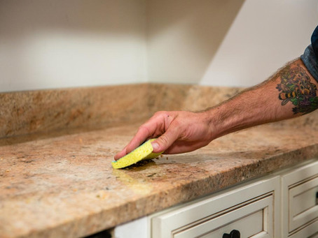 This Is The Best Way To Clean Your Granite Countertop!