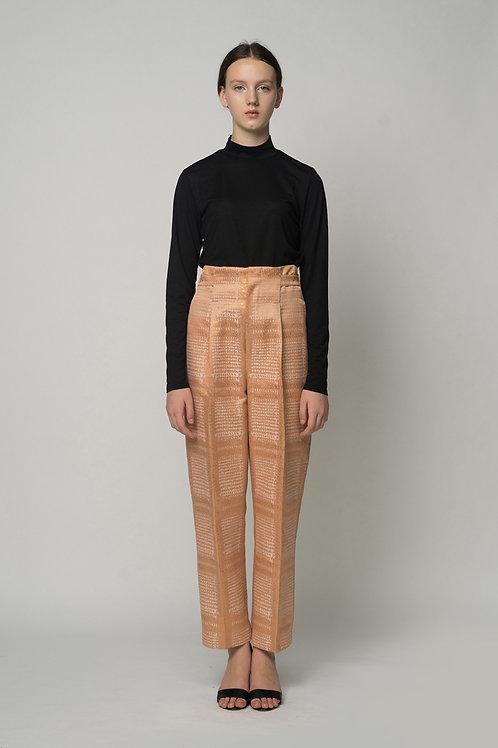 Bronze - Belt Adjust Trouser Pants
