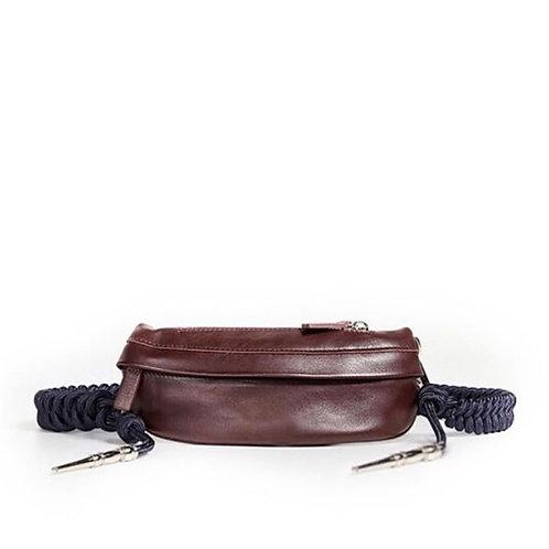 сумка через плечо, коричневая