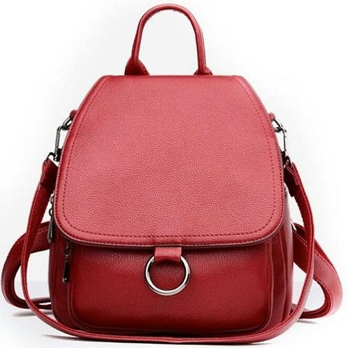 Рюкзак классический, красный
