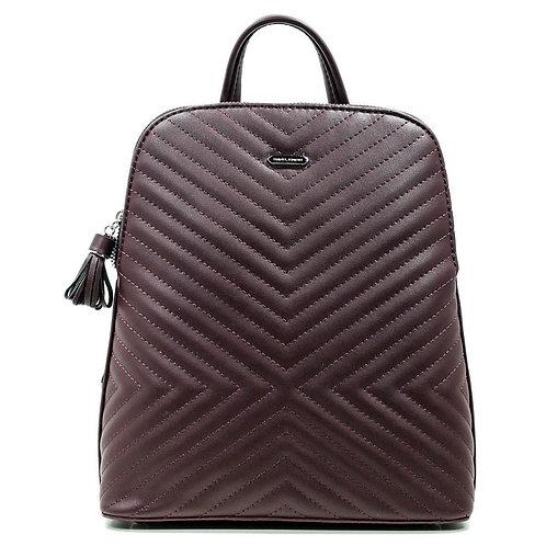 рюкзак David Jones женский, коричневый