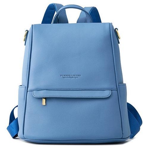 Рюкзак женский Pierre Loues синий 063